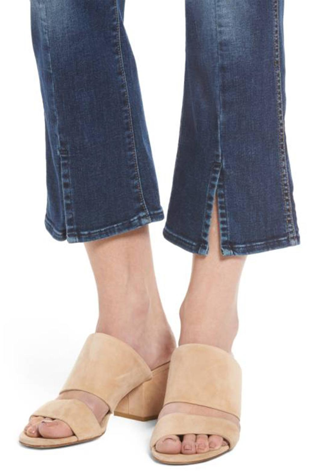 7 For all Mankind Cropped Boot Flare - Back Cropped Image