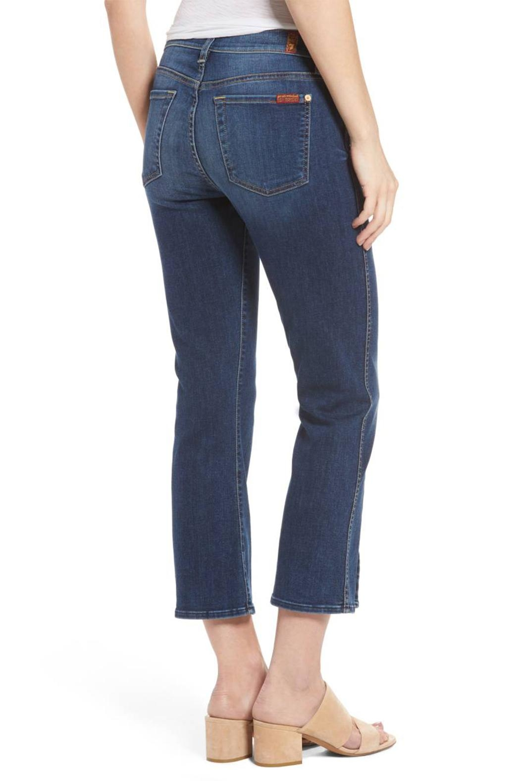 7 For all Mankind Cropped Boot Flare - Front Full Image