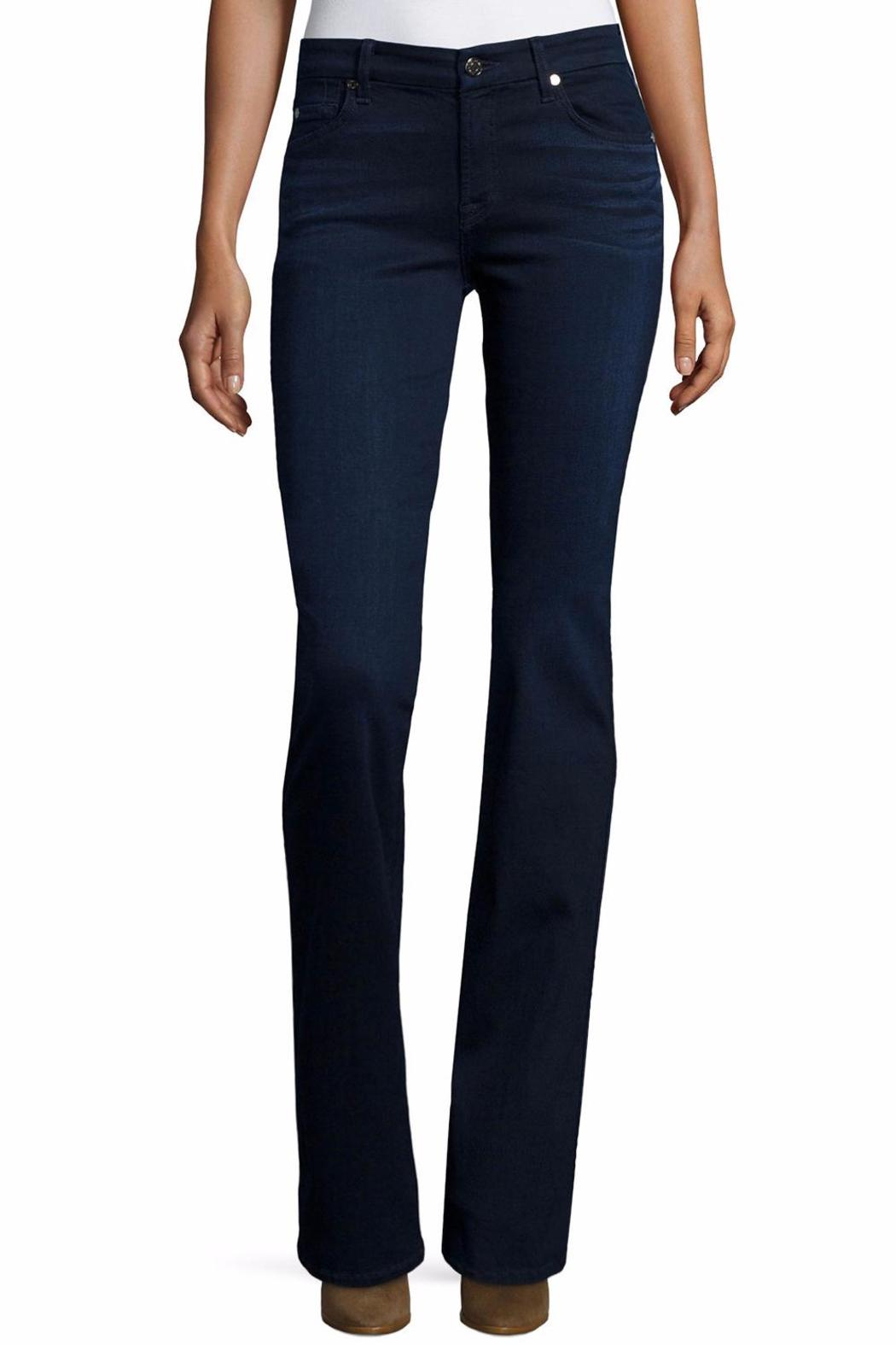 7 For all Mankind Form Fitted Bootcut - Front Cropped Image