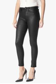 7 For all Mankind High Waisted Leather Skinny - Product Mini Image