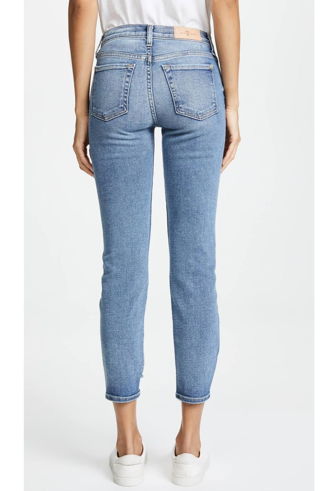 7 For all Mankind Roxanne Ankle Skinny - Front Full Image