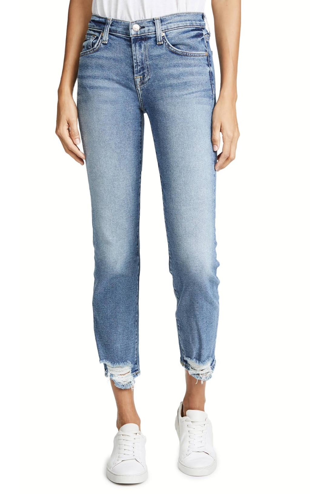 7 For all Mankind Roxanne Ankle Skinny - Main Image