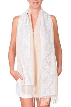 Shoptiques Product: White Lace Travel Scarf