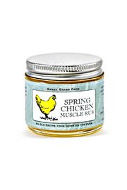 Sweet Grass Farm Spring Chicken Muscle-Rub - Front cropped