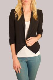 Cynthia Vincent Shawl Collar Blazer - Product Mini Image