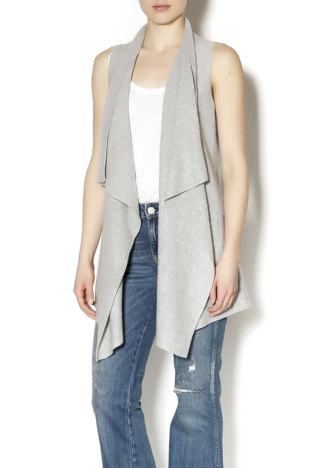 Vince Drape Sweater Vest from Colorado by Tula — Shoptiques