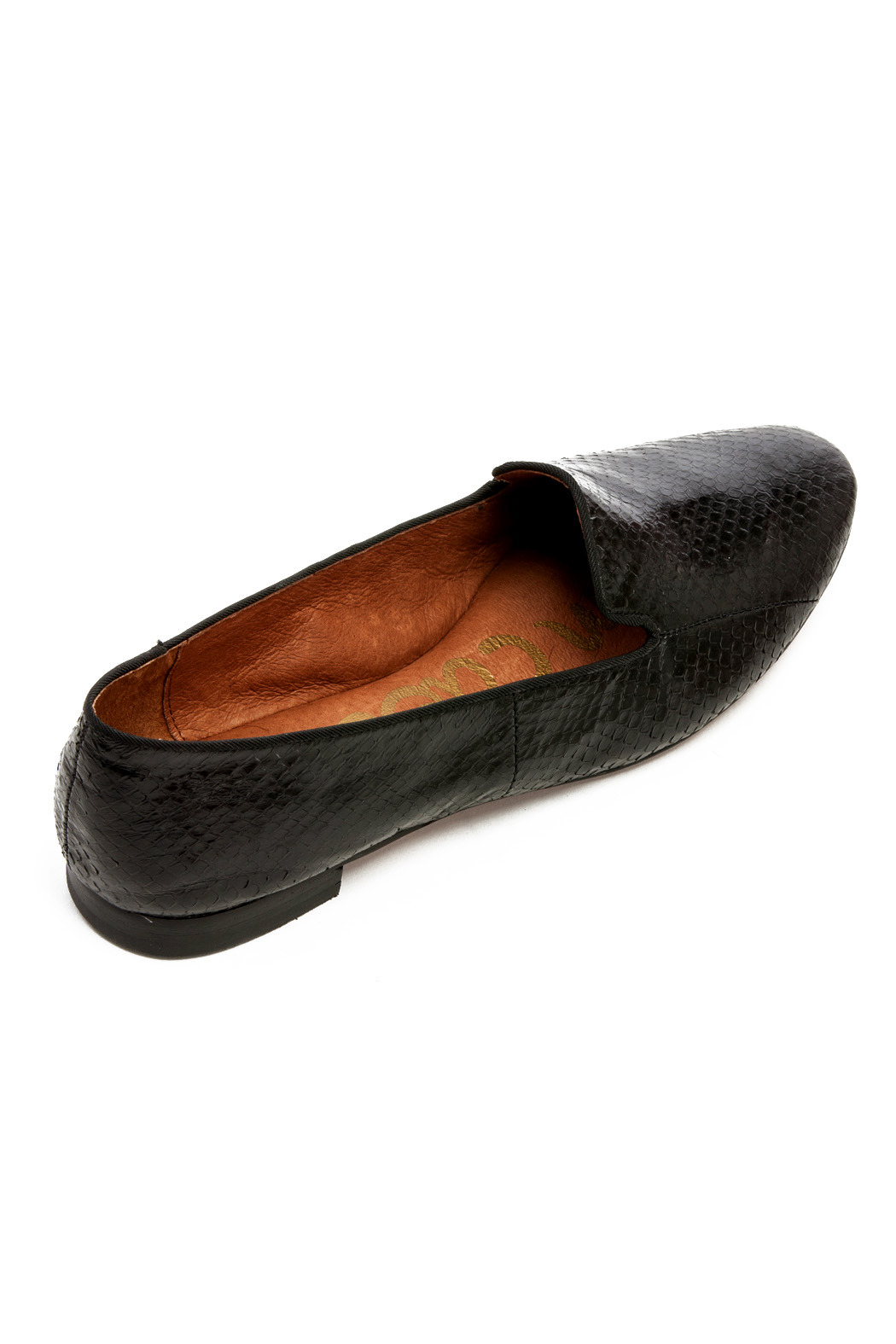 Sam Edelman Alvin Smoking Flat - Side Cropped Image