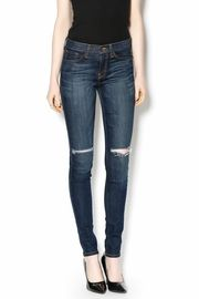 Shoptiques Product: High-Waisted Ripped Jeans