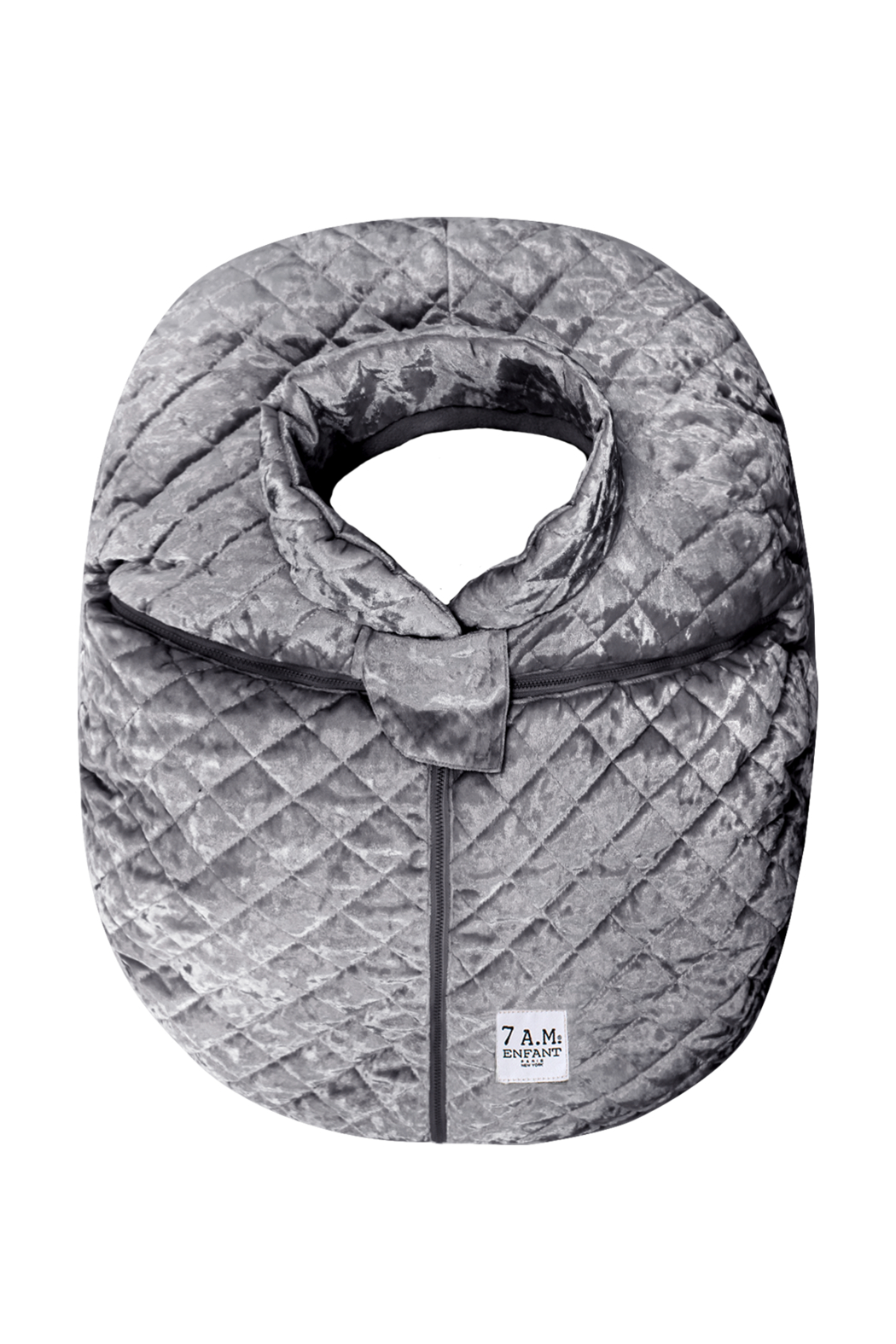 7AM Enfant Quilted Velvet Ultra Lightweight Cocoon For Baby's Car Seat - Main Image