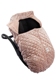 7AM Enfant Quilted Velvet Ultra Lightweight Cocoon For Baby's Car Seat - Side cropped
