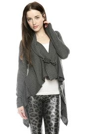 Monoreno Waterfall Sweater Shrug - Front cropped