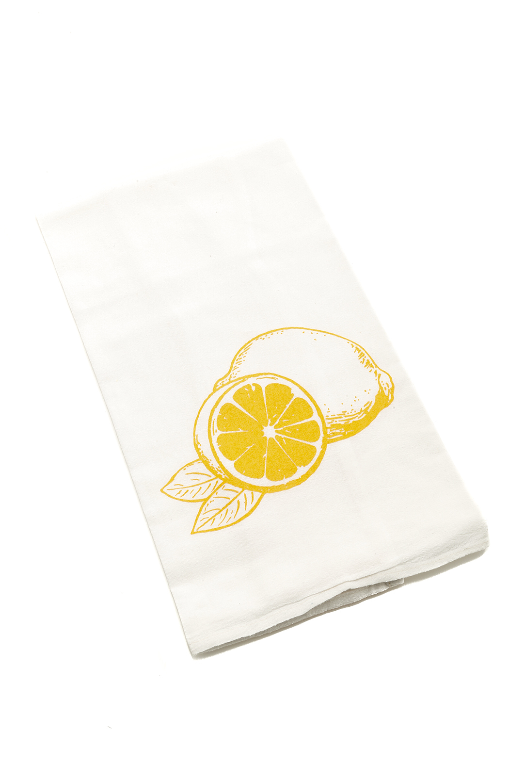 counter couture Lemon Lime Tea Towels - Back Cropped Image