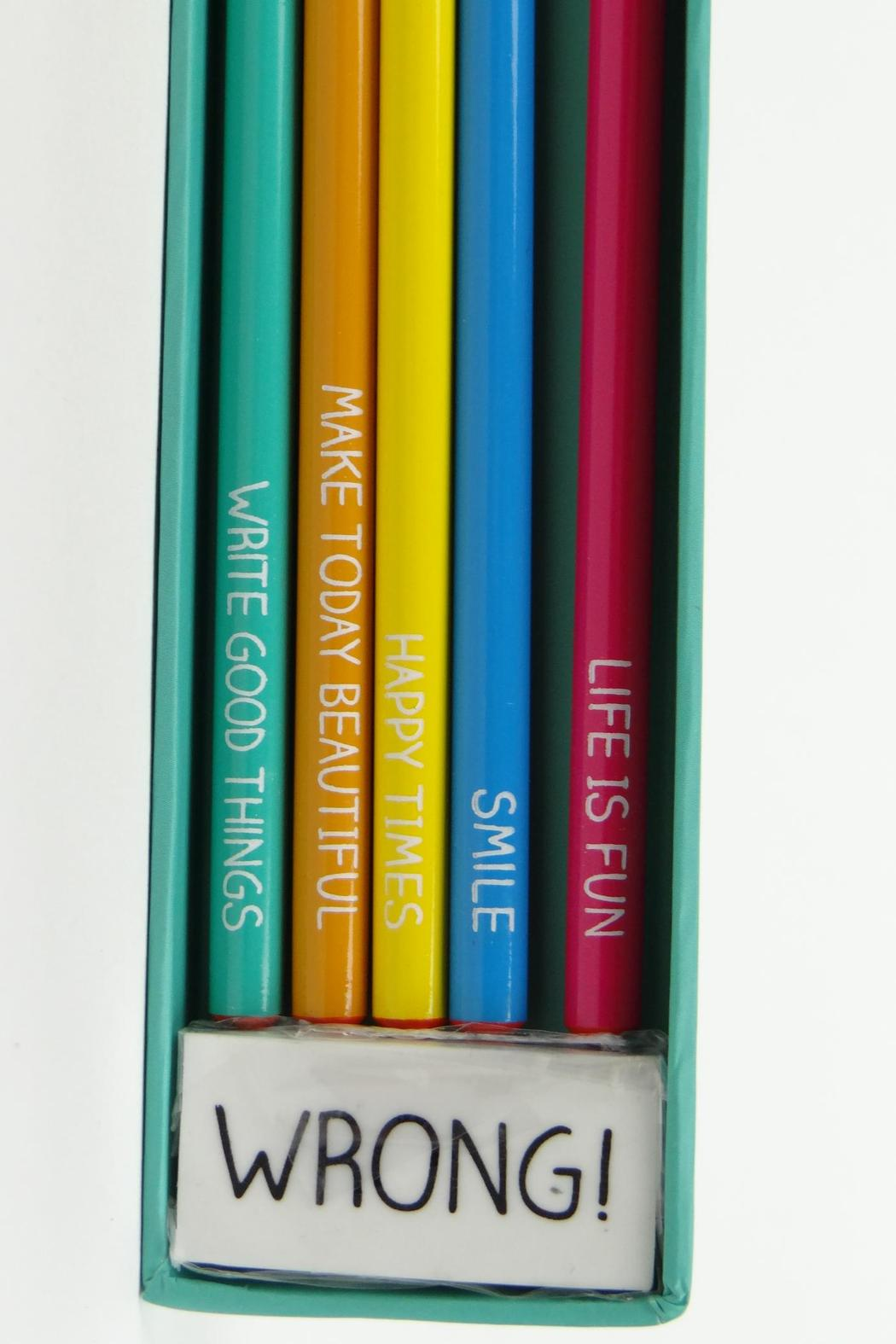 Happy Jackson  Cheerful Pencils - Side Cropped Image