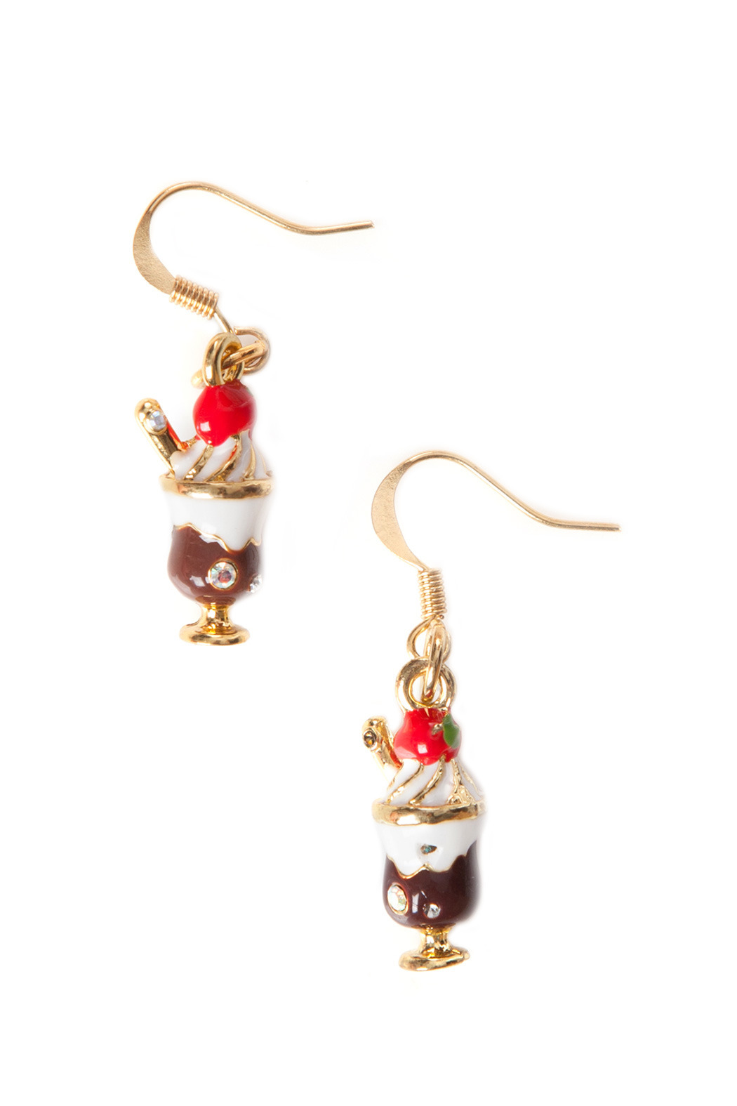 MissHoe Ice Cream Sundae Earrings - Front Cropped Image