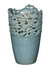 Walker's Blue Fish Vase - Product Mini Image