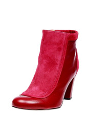Shoptiques Product: Burgundy Ankle Boots