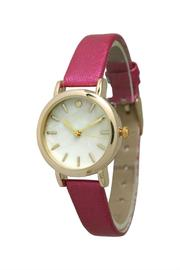 Olivia Pratt Petite Metallic Watch - Product Mini Image