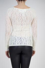Shoptiques Product: Seamless Lace Top - Back cropped