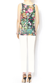 Glamorous Floral Mesh Jersey - Side cropped