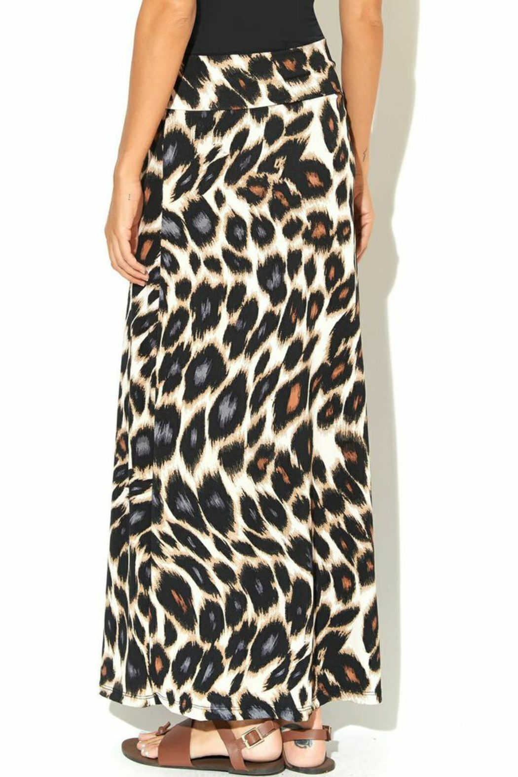 gilli cheetah maxi skirt from kansas city by frankie