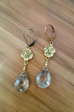 Melinda Lawton Jewelry Rutilated Quartz Earrings - Alternate List Image