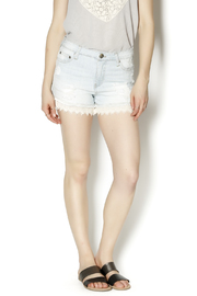 Elan Lace Bottom Shorts - Product Mini Image