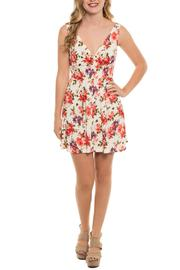 Shoptiques Product: Deep-V Skater Dress