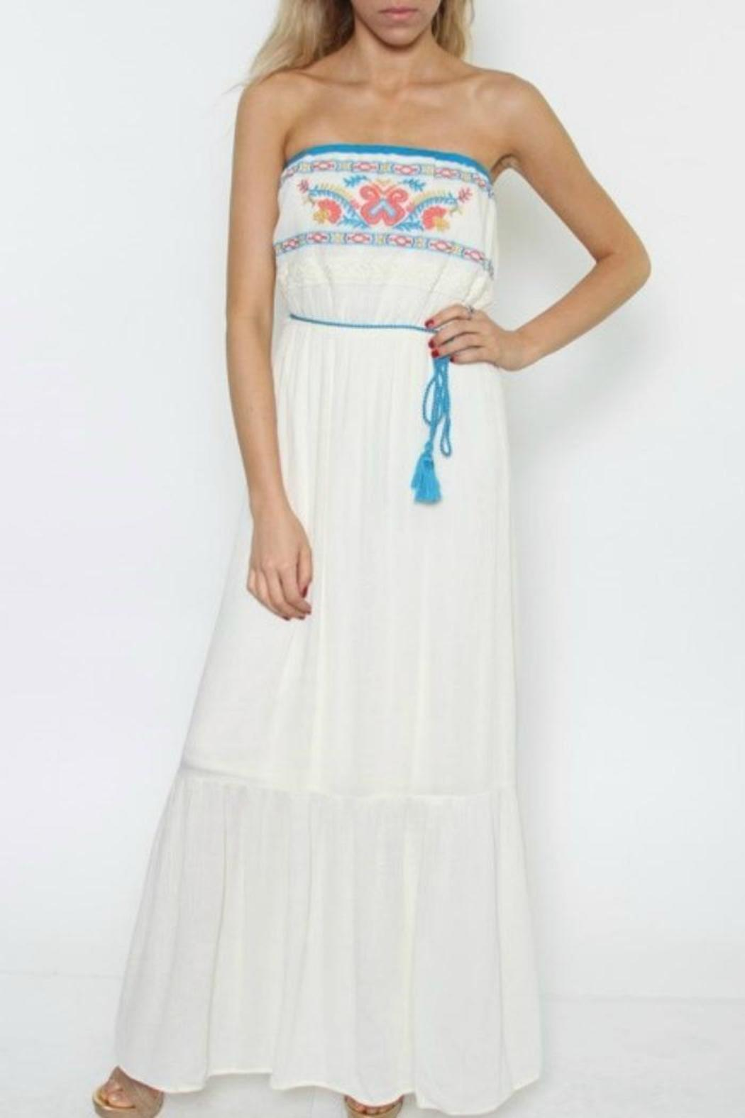 Flying Tomato Strapless Maxi Dress from New Orleans by Gia ...
