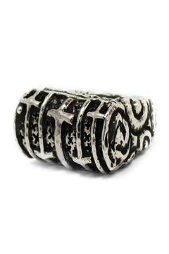 Shoptiques Product: Sterling Cross Ring