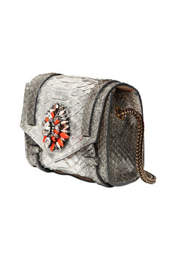 Shourouk Daktari Python Bag - Product List Image