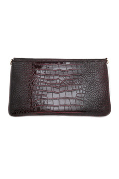 Melie Bianco Patent Envelope Clutch - Alternate List Image