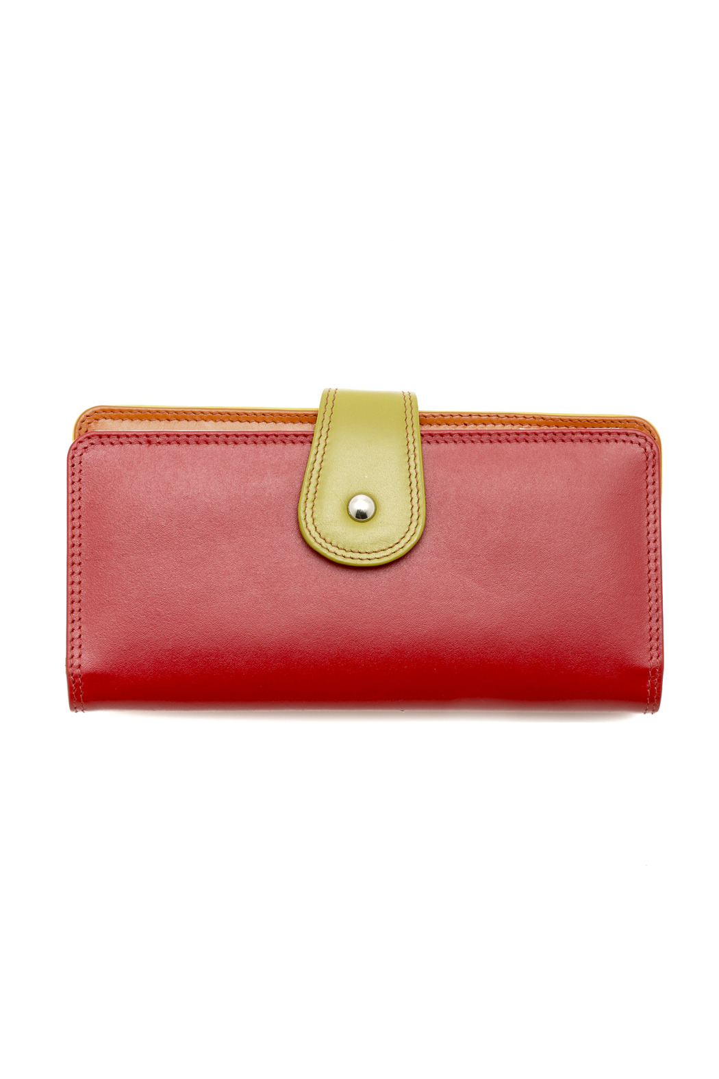 ILI Colorblock Wallet - Front Cropped Image