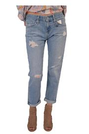 AG Adriano Goldschmied Ripped Boyfriend Jeans - Product Mini Image