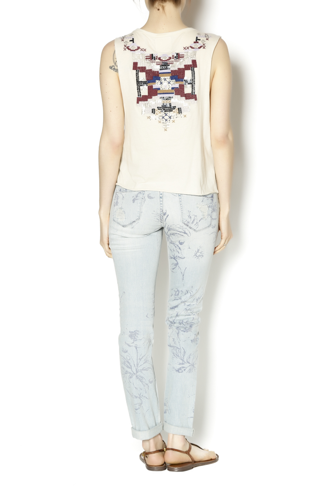 Blank NYC Cigarette Leg Jeans - Side Cropped Image