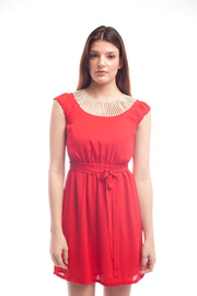 Shoptiques Product: Weave Collar Dress