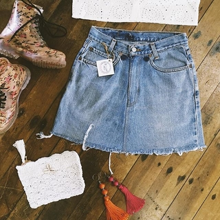 Shoptiques Product: Denim Skirt