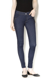 Yelete Indigo Jeggings - Product Mini Image
