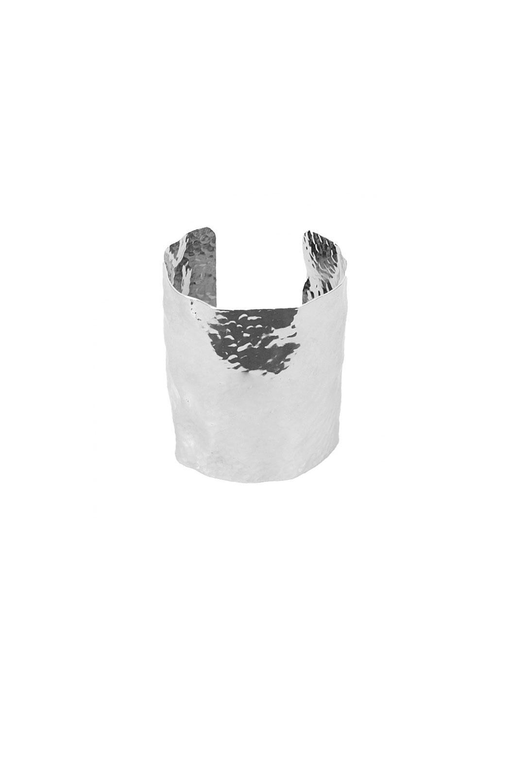 KTCollection Large Hammered Cuff - Front Full Image