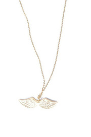 Green Double Wing Necklace - Product Mini Image