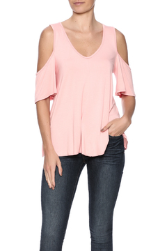 7th Ray Peach Off Shoulder Top - Product List Image