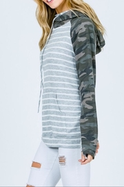 7th Ray Camo Raglan-Sleeve Hoodie - Other