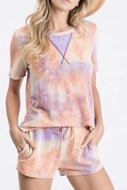 7th Ray Tie Dye Lounge Set - Front cropped