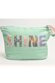Wander 7x11 SHINE Pouch - Front cropped