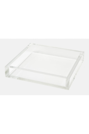 Tizo 7X7 LUCITE TRAY - Front cropped