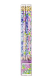 Lilly Pulitzer  8 Assorted Pencils and Eraser Set - Product Mini Image