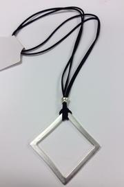 Zzan Long Silver Necklace - Product Mini Image
