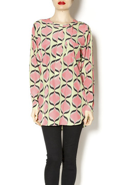 Cousin Earl Inferno Print Blouse - Product List Image