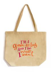 Emily McDowell Grown Lady Tote - Product Mini Image