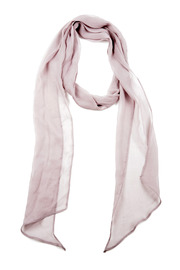 Anjelie Kumar Silk Multi Scarf - Front cropped