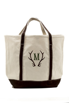 Shoptiques Product: Deer Personalized Tote
